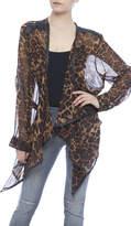Crystal K Leopard Kimono
