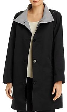 Eileen Fisher Petites Stand Collar Coat - 100% Exclusive