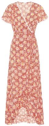 Poupette St Barth Exclusive to Mytheresa Joe floral wrap dress