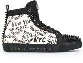 Philipp Plein New York motif sneakers