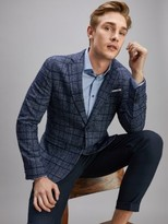 Tommy Hilfiger Check Slim Fit Blazer