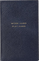 "Smythson Work Hard Play Hard"" Panama Notebook"