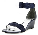 Adrianna Papell Adelaide Open Toe Synthetic Wedge Sandal.
