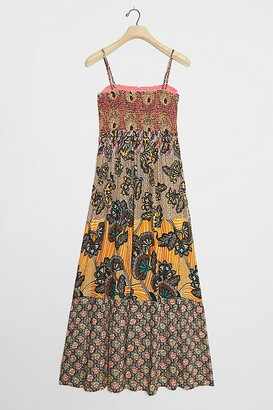 Anthropologie Amalita Smock Maxi Dress