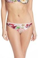 Ted Baker Women's 'Encyclopedia' Floral Print Bikini Bottoms