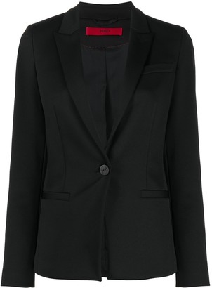 HUGO BOSS Single-Breasted Blazer