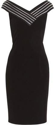 Gina Bacconi Callia Stretch Crepe Dress