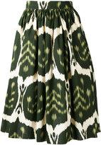 Hache printed skirt - women - Cotton - 42