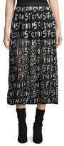 Alice + Olivia Levon Shorts with Graphic-Print Overskirt
