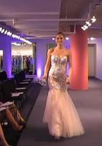Jovani Elegant Strapless Evening Gown in Crystal Embellishments 93579