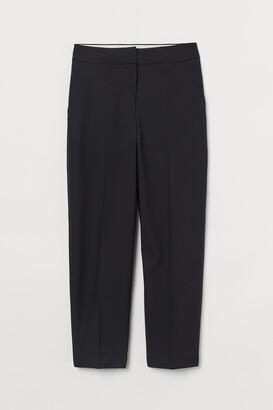 H&M Wool-blend cigarette trousers