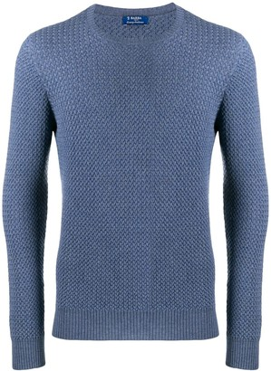 Barba Long-Sleeve Knitted Sweater