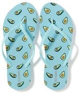 Old Navy Icon-Printed Flip-Flops for Women