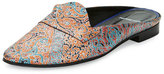 Pierre Hardy Jacno Printed Leather Loafer Mule, Multi