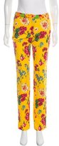 Dolce & Gabbana Printed Mid-Rise Jeans