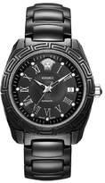 Versace Unisex 01ACS9D009 SC09 DV One Analog Display Automatic Self Wind Black Watch