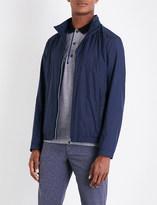 BOSS GREEN Mesh-panelled shell jacket
