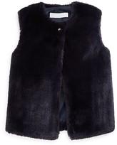 Tartine et Chocolat Girls' Faux Fur Vest - Little Kid Months