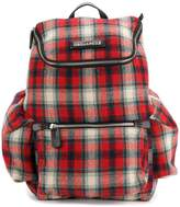 DSQUARED2 tartan backpack
