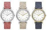 Timex Women's Casual Fabric Strap Watch | Originals Linen | Minimal Dial