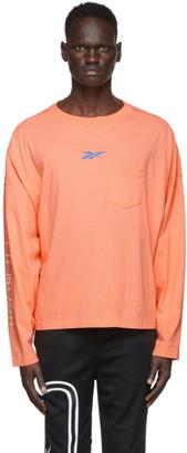 Reebok by Pyer Moss Pink Pocket Long Sleeve T-Shirt
