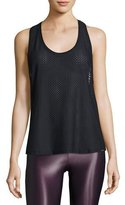 Koral Activewear Runout Athletic Mesh Tank, Black