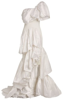 Maticevski Delighted Ruffle Gown
