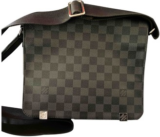 Louis Vuitton Abbesses Messenger Grey Cloth Bags