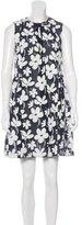 Marni Floral Print Mini Dress