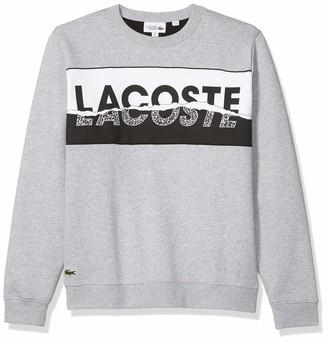 Lacoste Men's Sport Crewneck Graphic Sweatshirt