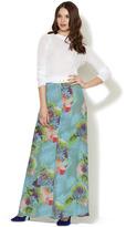 A.L.C. Allegra Printed Silk Maxi Skirt