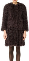 Max Studio by Leon Max Curly Fur Coat