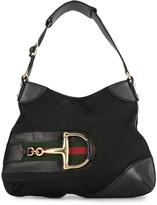 Gucci Pre Owned Jackie GG Horsebit shoulder bag