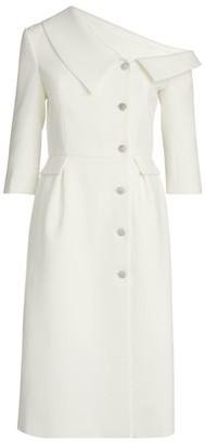 Huishan Zhang Shiloh One-Shoulder Dress