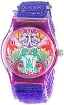 Disney Kids' W001704 Tinker Bell Analog Display Analog Quartz Purple Watch