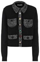 Dolce & Gabbana Cashmere-blend cardigan