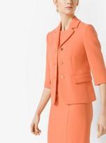 Michael Kors Stretch Boucle-Crepe Jacket