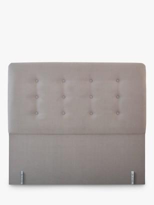 Vi-Spring Vispring Clio Full Depth Upholstered Headboard, Double, FSC-Certified (Chipboard)