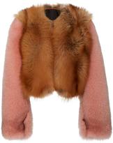 Diane von Furstenberg Fox Fur Jacket