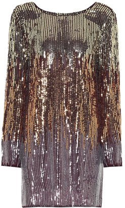 Rixo Aria sequined minidress