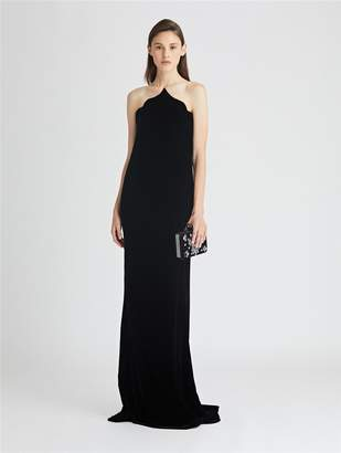Oscar de la Renta Arabesque Velvet Gown