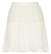 Saint Laurent Cotton jacquard skirt