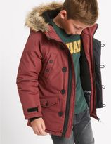 Marks and Spencer Faux Fur Parka Jacket with StormwearTM (3-14 Years)