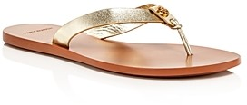 Tory Burch Women's Manon Leather Thong Sandals