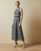 Ted Baker Floral Lace Evening Dress