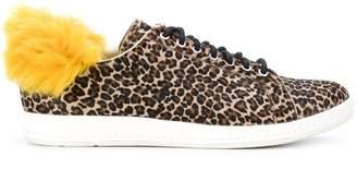 Paul Smith faux fur trim sneakers