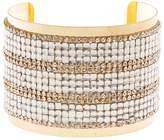 Charlotte Russe Plus Size Embellished Rhinestone Cuff Bracelet