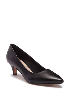 Clarks Linvale Jerica Leather Pump - Wide Width Available