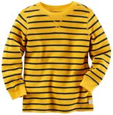 Carter's Baby Boy Striped Thermal Long Sleeve Tee