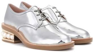 Nicholas Kirkwood Casati Pearl leather Derby shoes